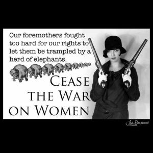 1stum cease war on women