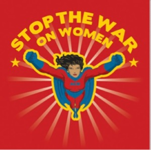 stop the war on women superwoman