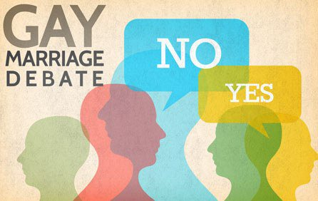 over marriages Debate gay